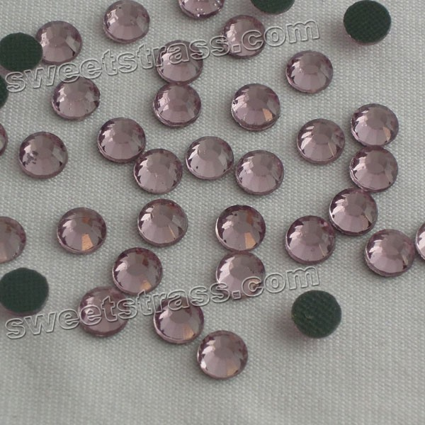 Hotfix Korean Rhinestones Shop Light Amethyst Purple Rhinestones SS20