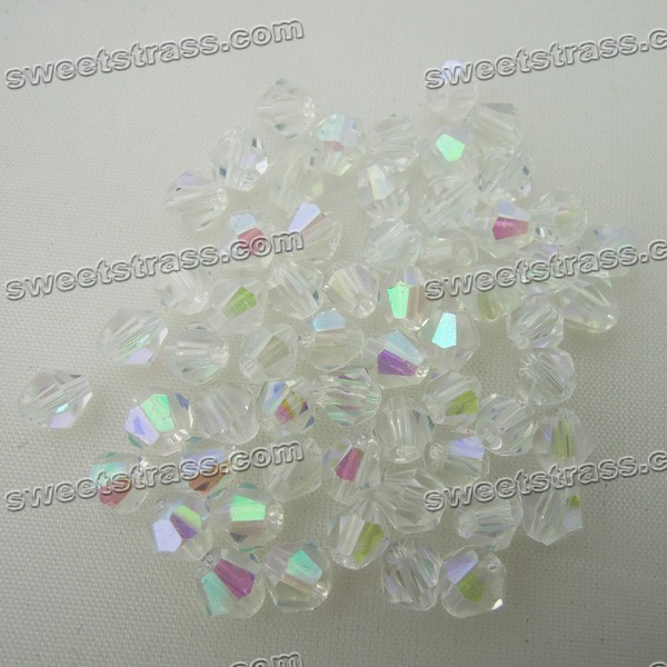 6mm Bicone Beads Competitive With Swarovski Bicone Beads