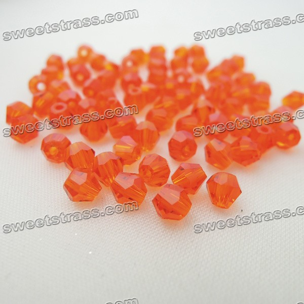 4mm Bicone Crystals Beads For Clothing - Hyacinth