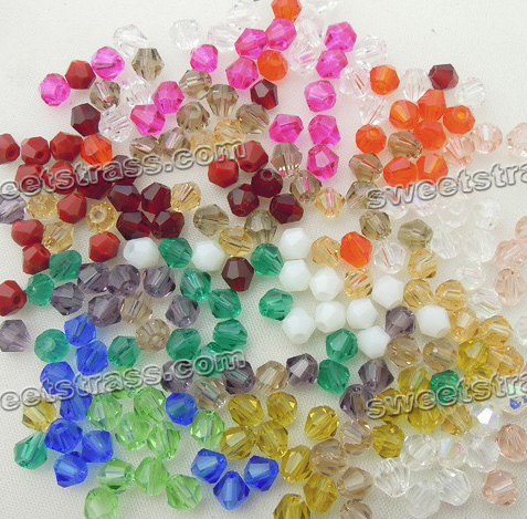Loose Bicone Glass Beads Wholesale Online