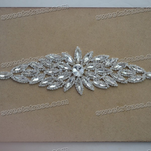 Rhinestone Appliques For Wedding Dresses