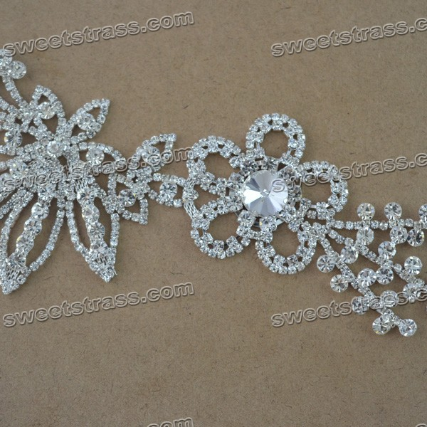 Crystal Appliques For Wedding Dresses