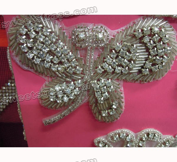 Crystal Embellishments Applique Strass