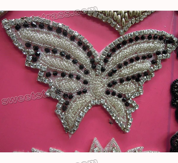 Bead Rhinestone Embellishments Wholesale