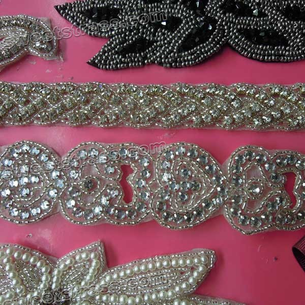 Crystal Rhinestone Embellishments For Wedding
