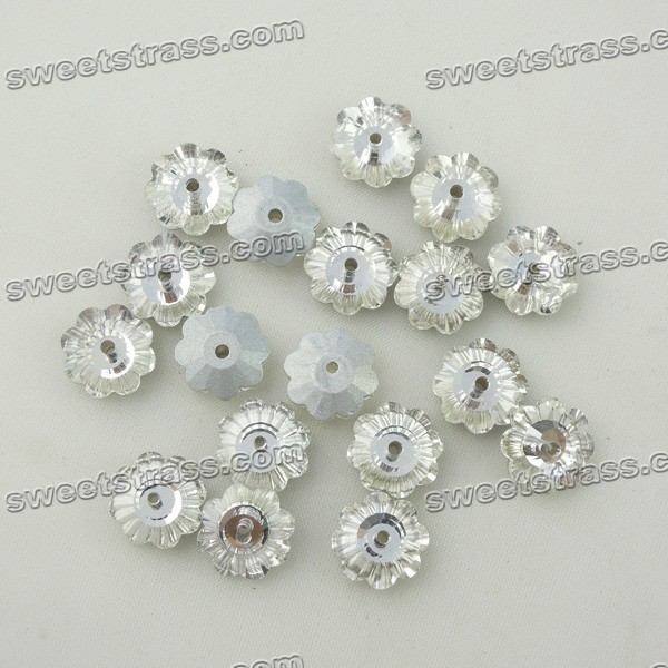 Sew On Glass Crystals Wholesale-Flower Crystal