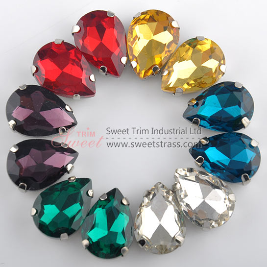 Wholesale Fancy Sewing Glass Stone,Crystal Rhinestones In Settings