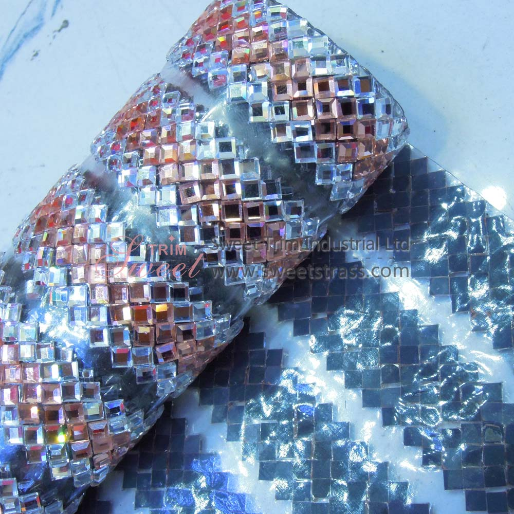 Hot Fix Glass Stone Rhinestone Crystal Sheet Roll Wholesale