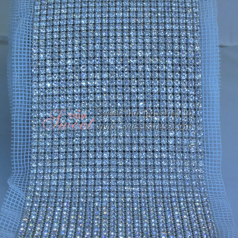 Bag Accessory Crystal Rhinestone Mesh Wholesale