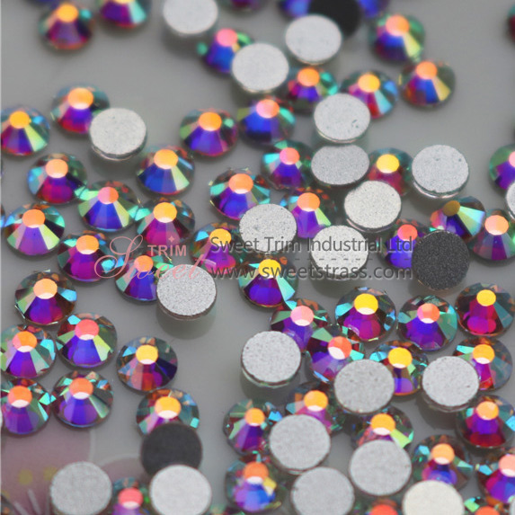 Wholesale Flatback Non Hot Fix Rhinestone Crystal AB ss3-ss40