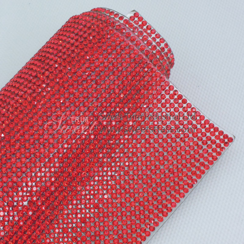 24*40cm Hotfix Rhinestone Strass Sheet For Shoes