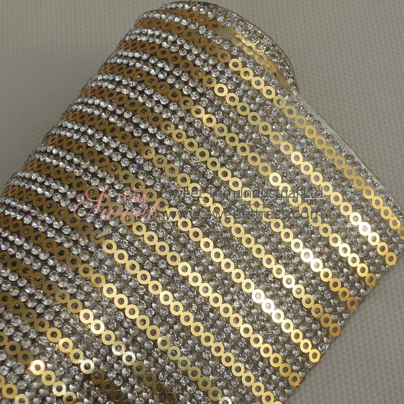Wholesale Adhesive Strass Rhinestone Trim