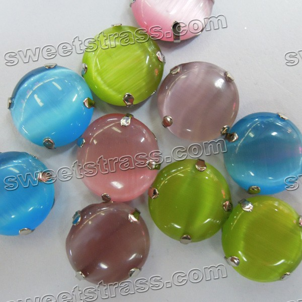 Sew On Acrylic Gems Montee Beads-Round