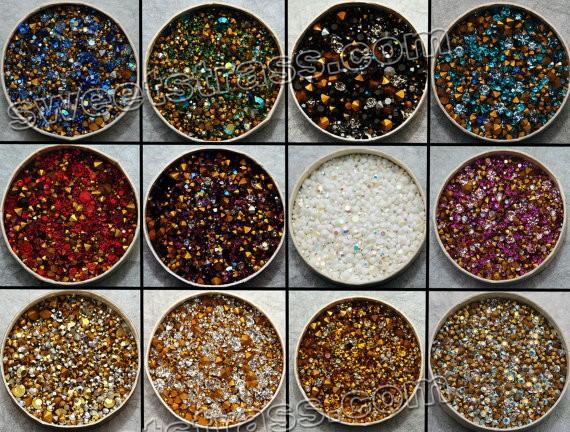 e71db4199 Swarovski Chaton Crystals Wholesale Jet AB SS41_Hotfix rhinestones ...