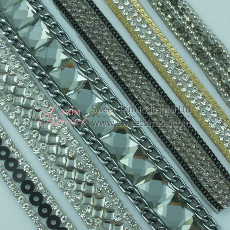 Shoes Accessory Hot Fix Rhinestone Trimmings Wholesale
